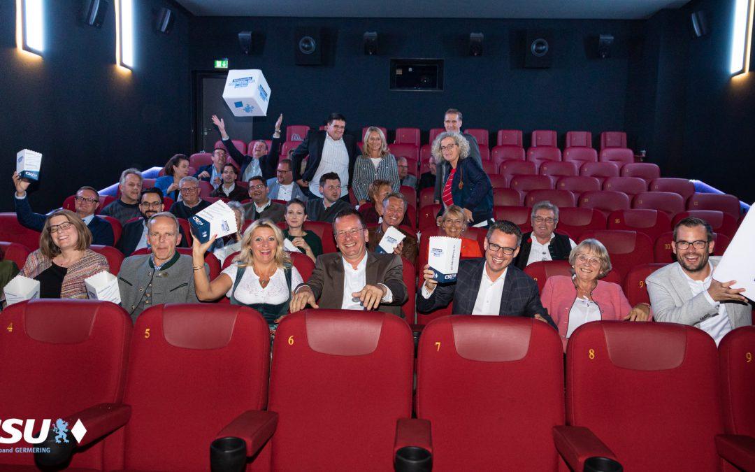 Großes Kino – CSU Germering präsentiert bunt gemischte Stadtratsliste